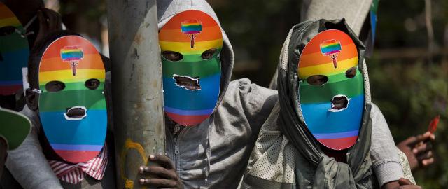 Uganda, gay
