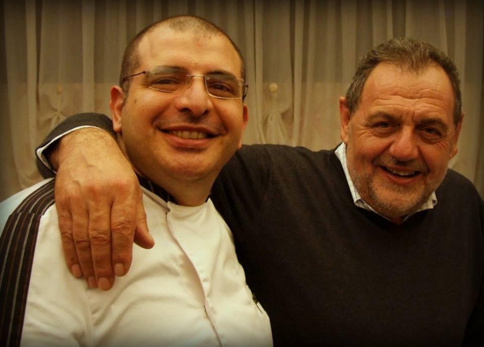 Lo Chef Nicola Russo Accanto al Maestro Gianfranco Vissani