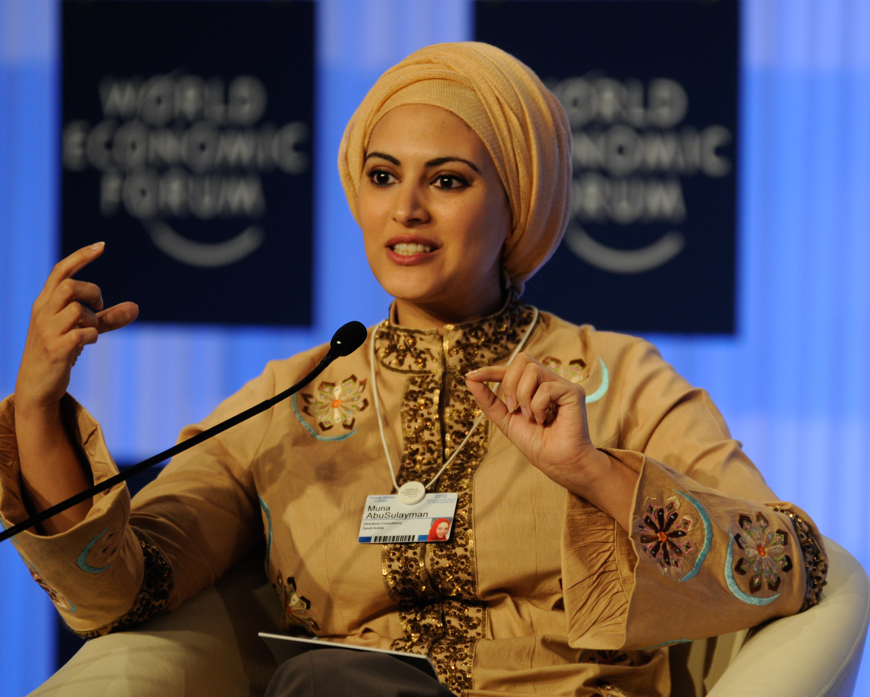 World Economic Forum on hte Middle East, North Africa and Eurasia 2012