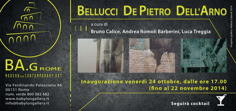 BELLUCCI, DELL'ARNO, DE PIETRO - INVITO 01