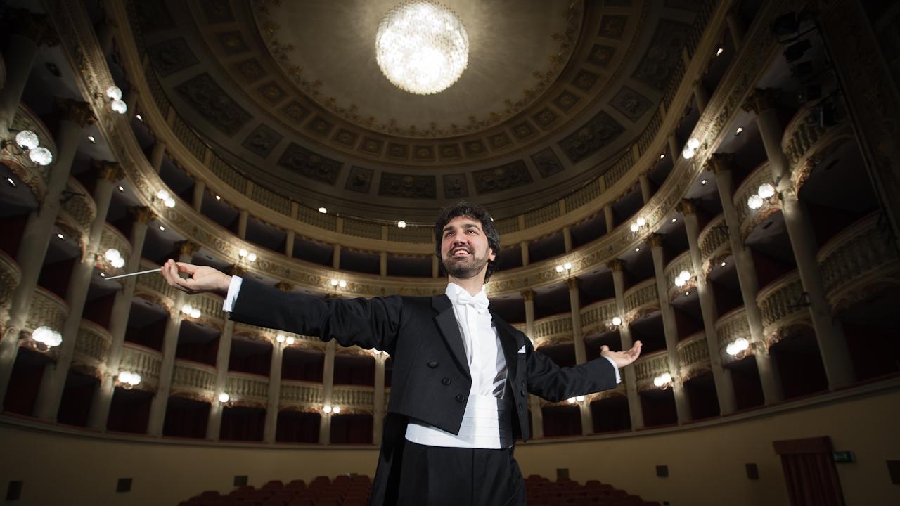 Andrea Vitello, direttore d'orchestra