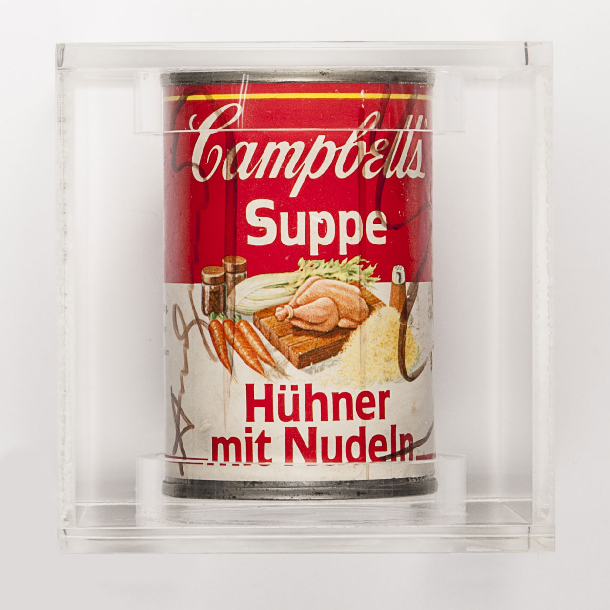 Andy Warhol, Campbell's Soup, 1970, cm 10 x 6,5 x 6,5