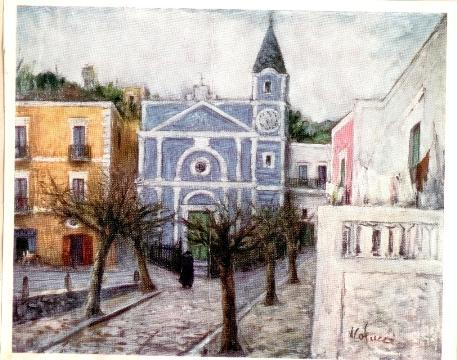Piazzetta Barano ad Ischia