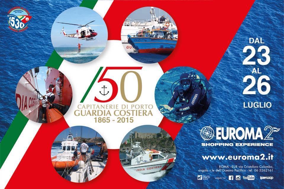 Guardia Costiera a Euroma2