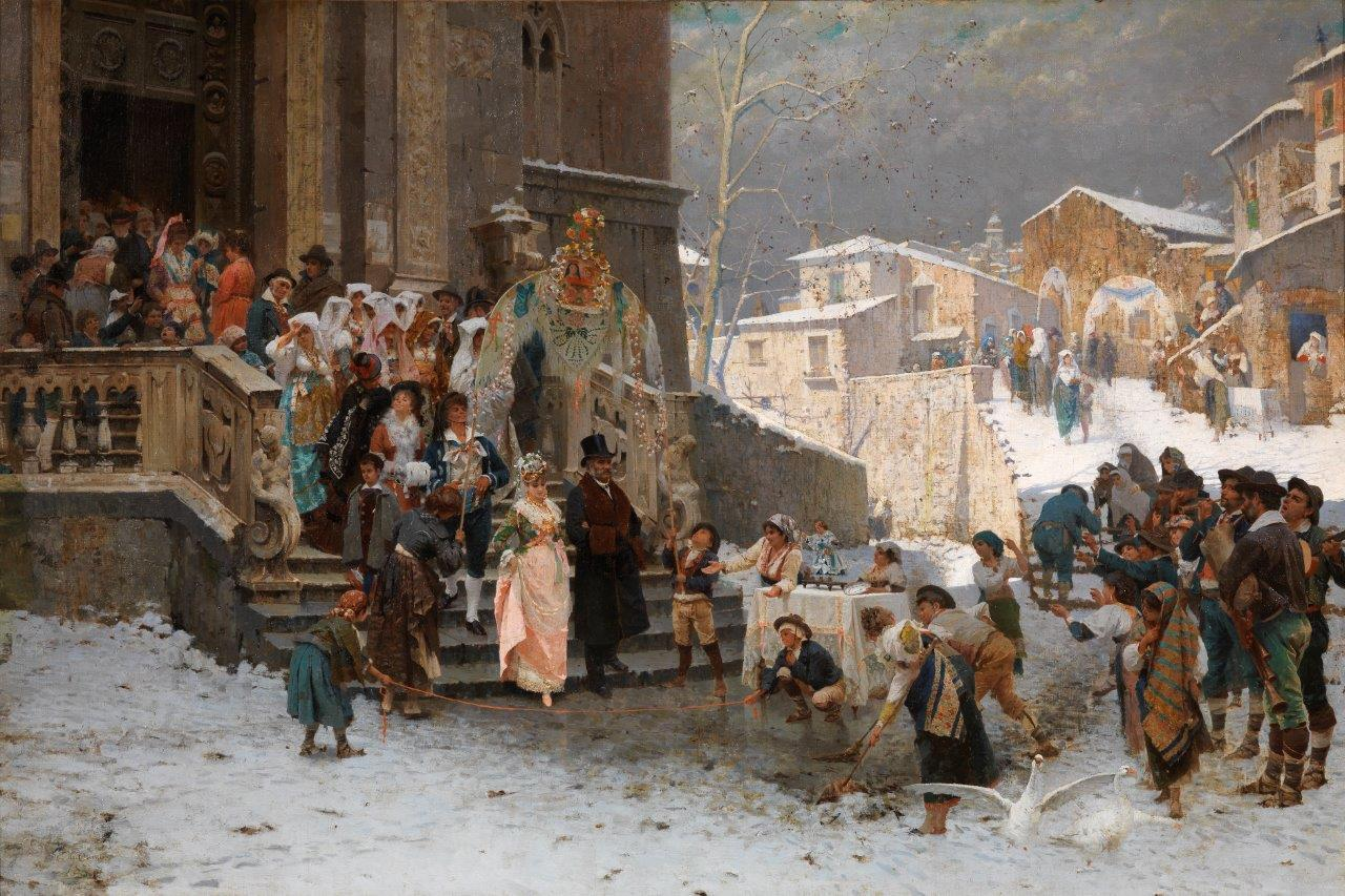 Di Chirico_Uno sposalizio in Basilicata