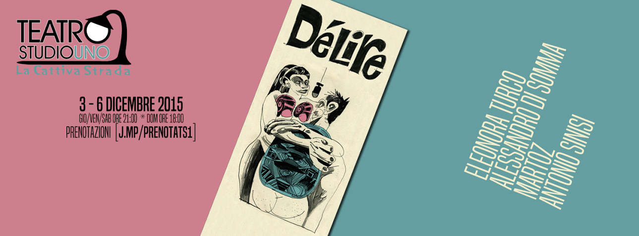 D+®lire_3-6 dic 2015_Teatro Studio Uno_banner