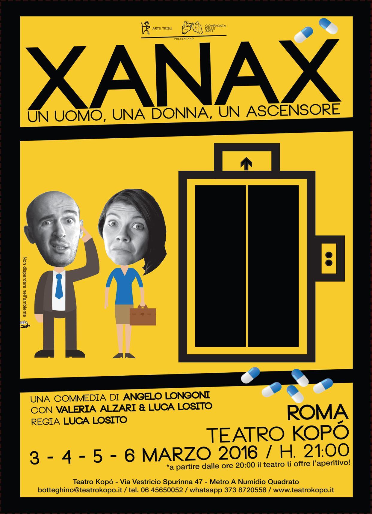 Xanax _ Locandina
