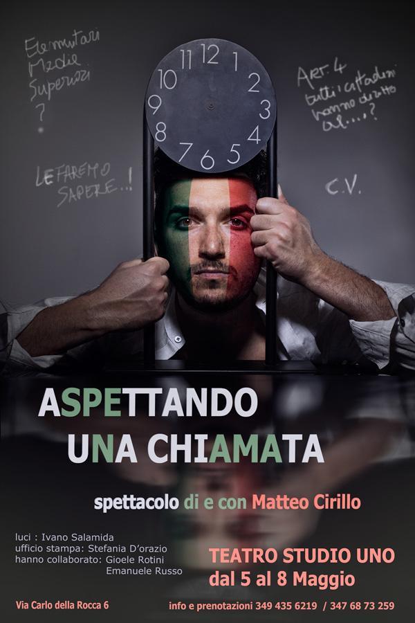 Aspettando una chiamata_ 5-8 maggio_ Teatro Studio Uno_Roma_loc