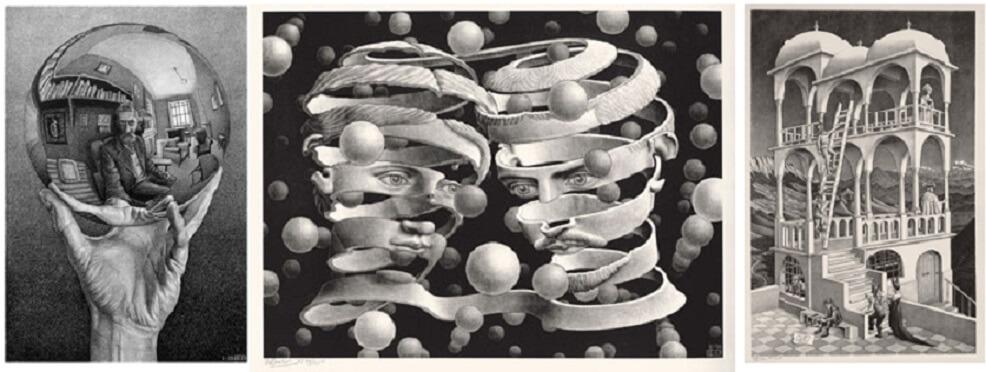 Suggestioni dalla sicilia nelle opere di escher in mostra for Escher mostra catania
